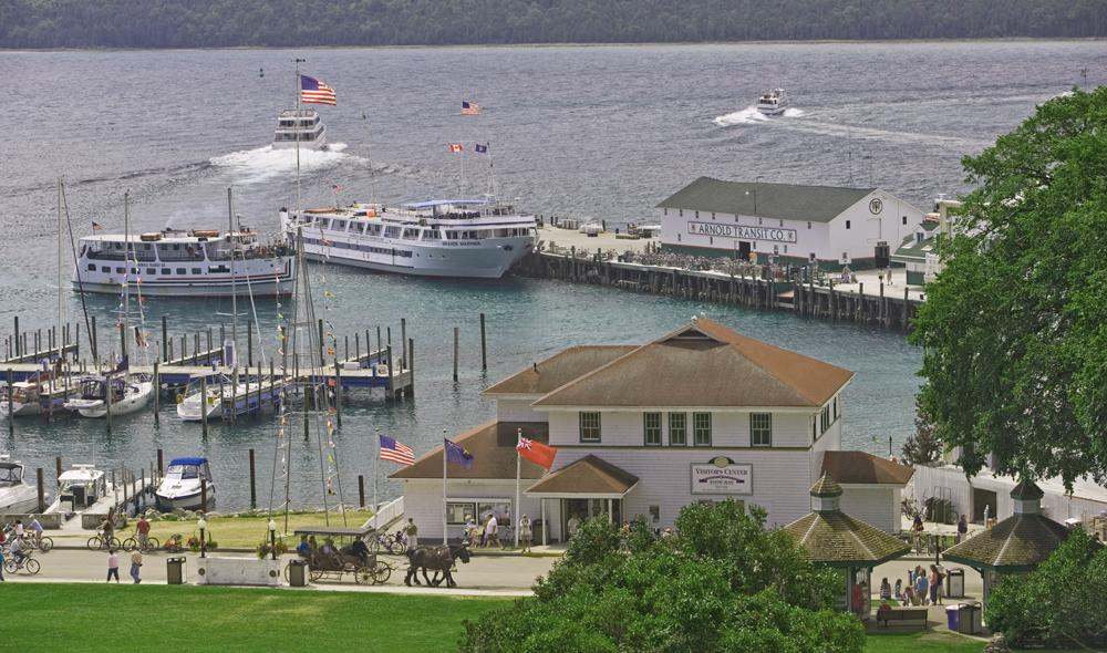 Mackinac Island Cruise Ships