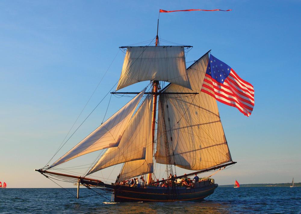 Square Topsail Sloop Replica War of 1812