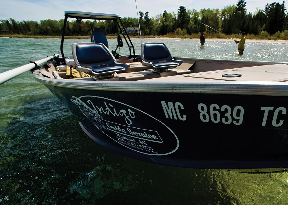 Fishing Boat Called Indigo in Michigan