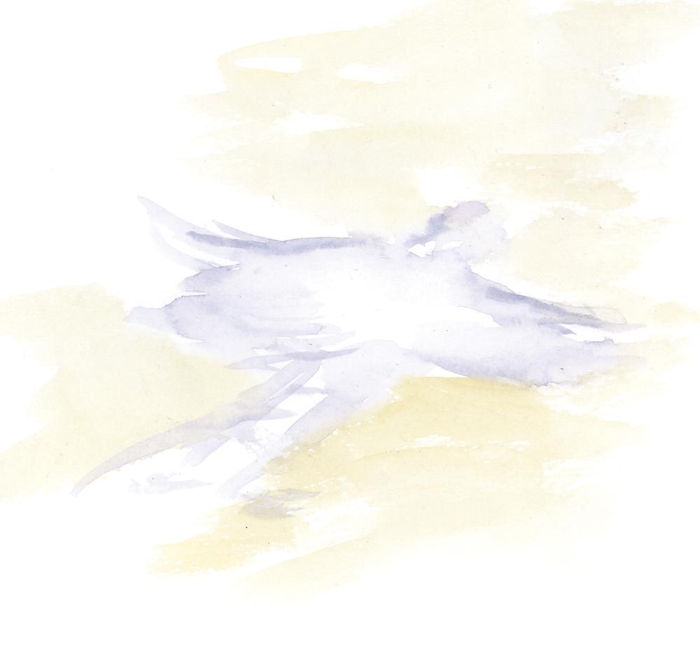 xmas snow angel