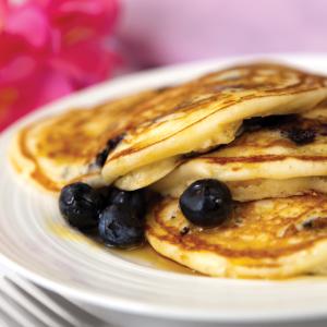 iStock Blueberries Pancakes