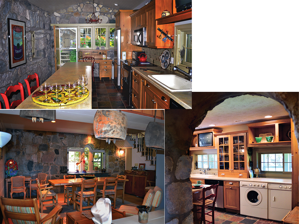 Boulder Manor's original kitchen