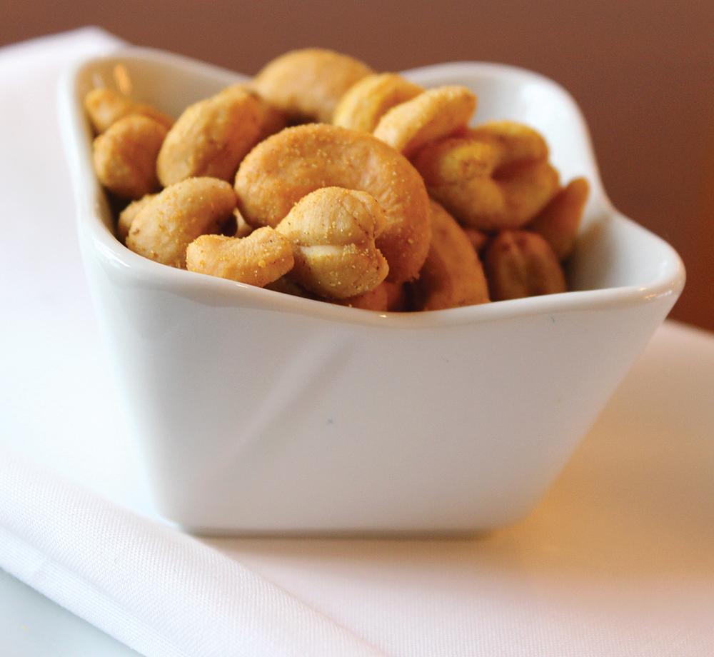 Curried Cashews