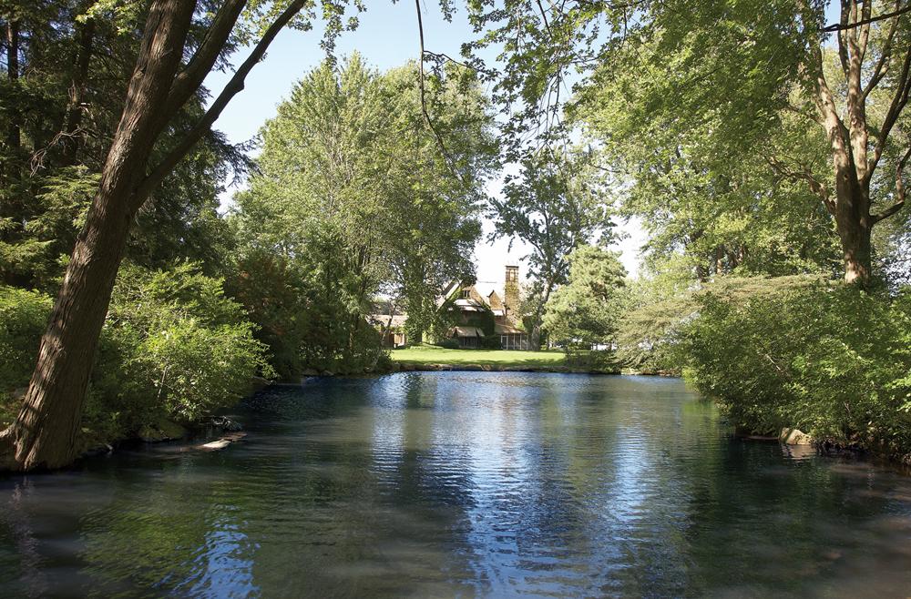 Edsel Ford Estate Pond