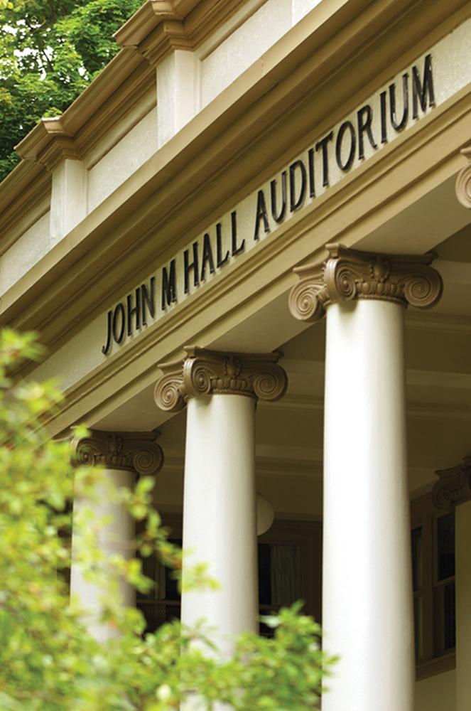 John M. Hall Auditorium