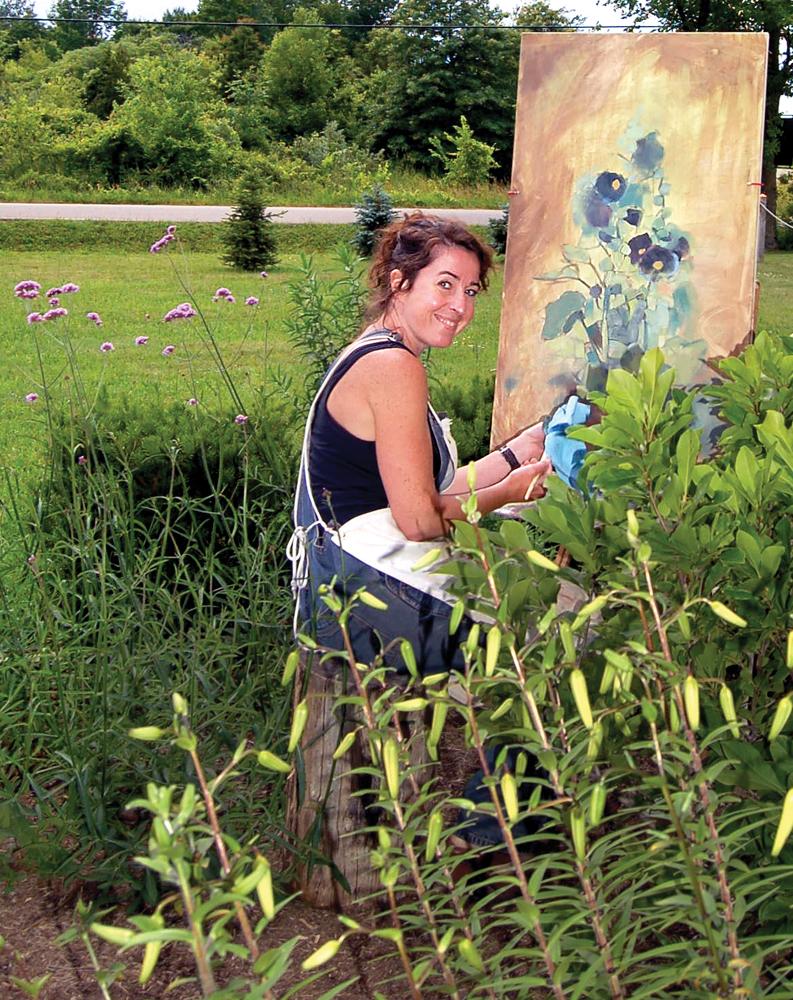 Dawn Stafford painting