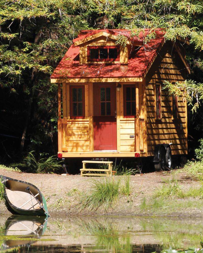 Linden Tiny Home Exterior