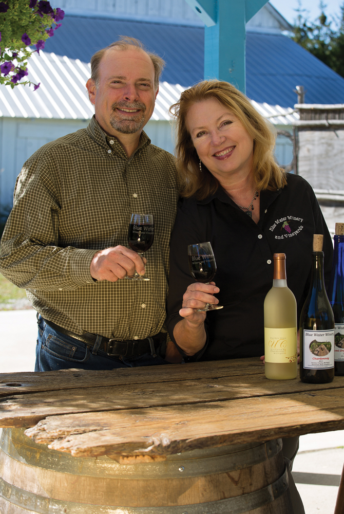 Blue Water Winery owners