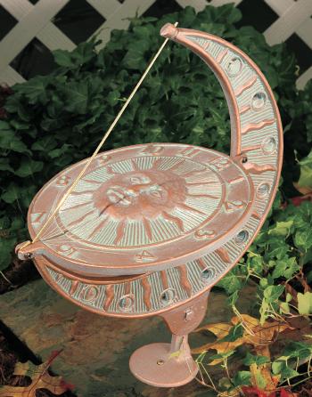 Sun and Moon Sundial