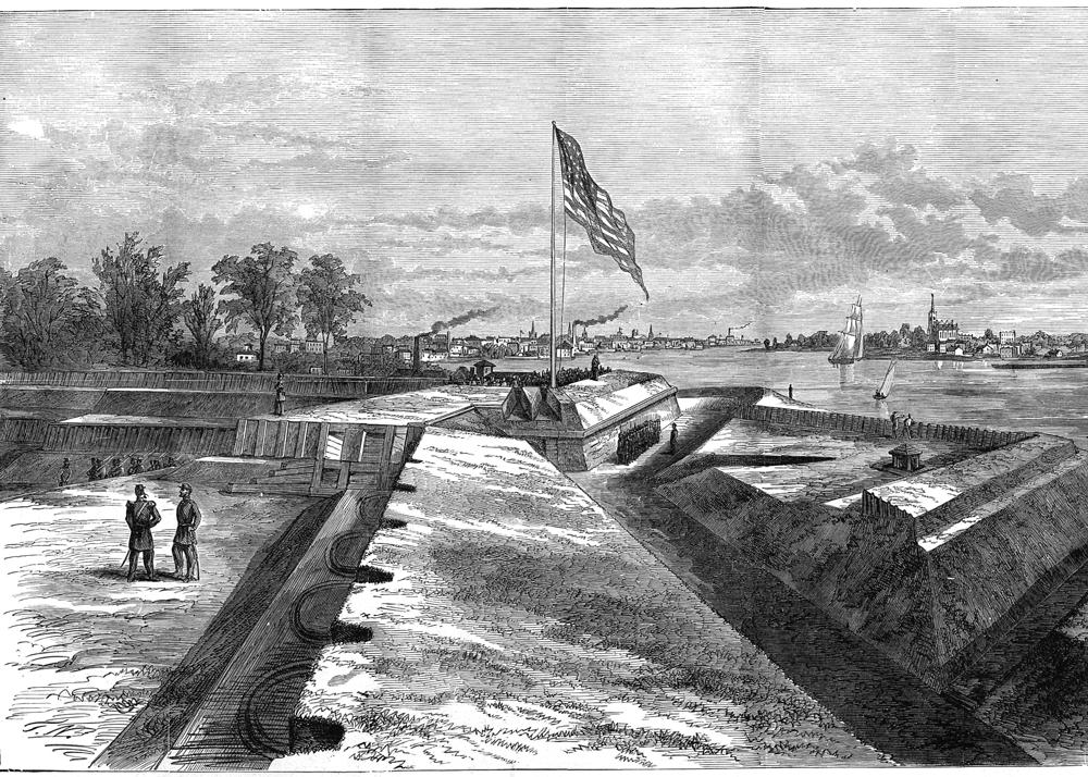 Fort Wayne Sketch Book Page