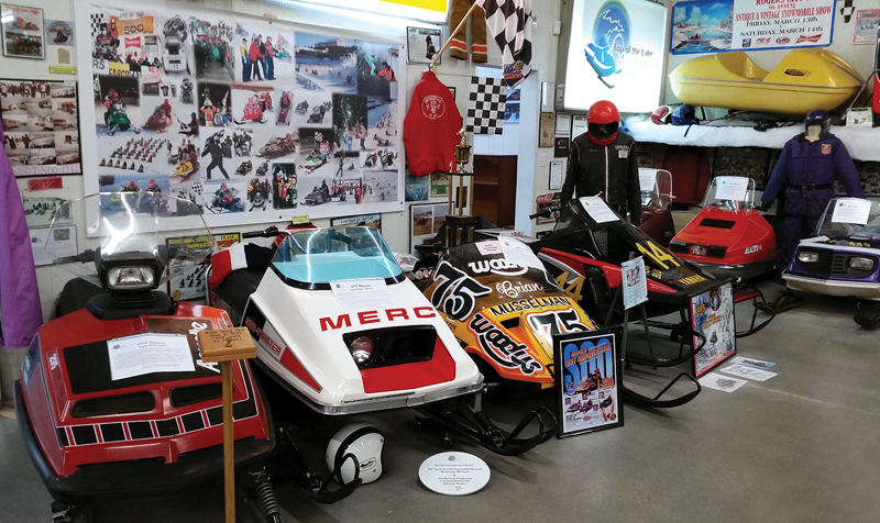 Lake Snowmobile Museum