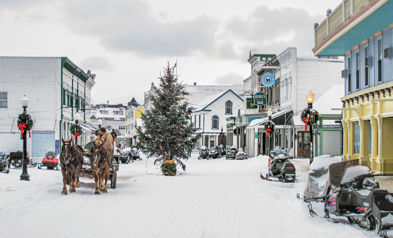 Winter Wonderland - Mackinac Island
