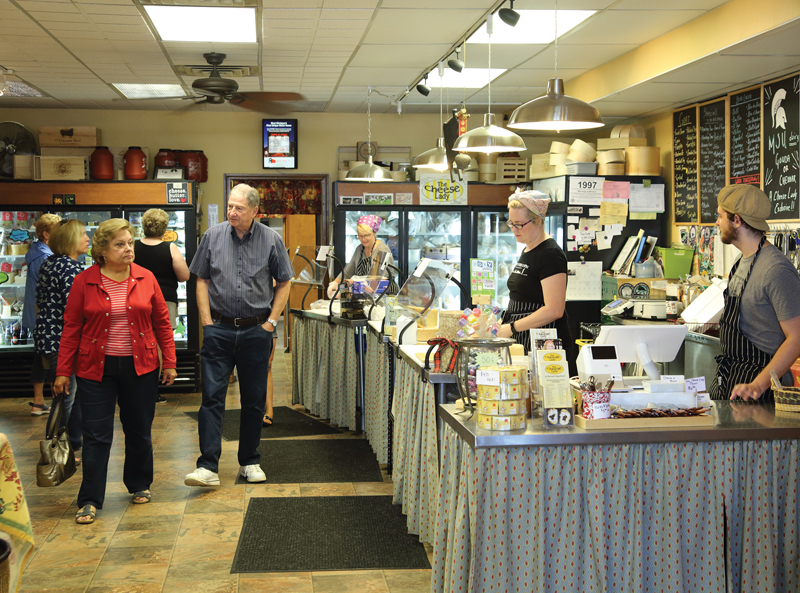 The Cheese Lady Store - Interior