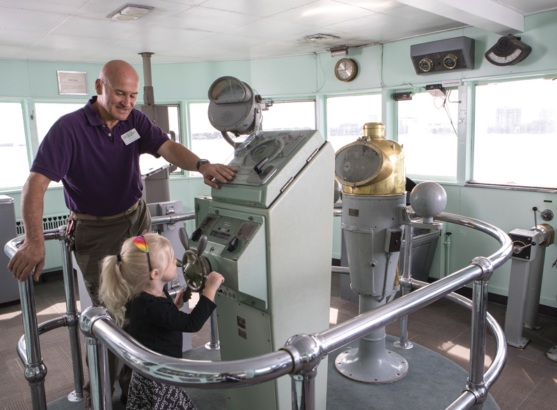 Pilot House - Dossin Great Lakes Museum