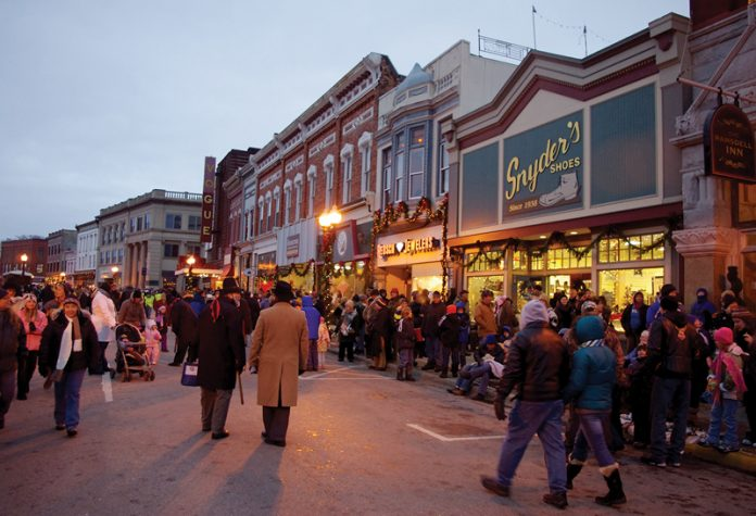 sleighbell parade - main street