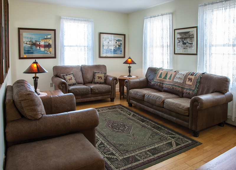 Whitefish Point Station living room