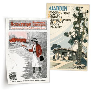 Aladdin Cottages flyers