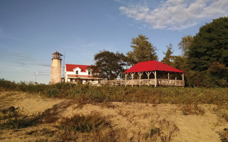 Charity Island lightkeepers home
