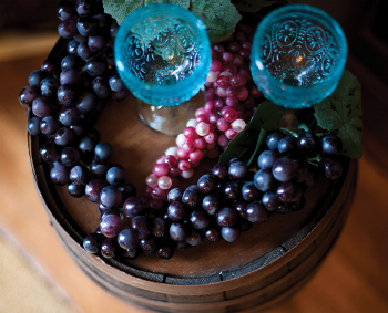 Oceana Winery grapes