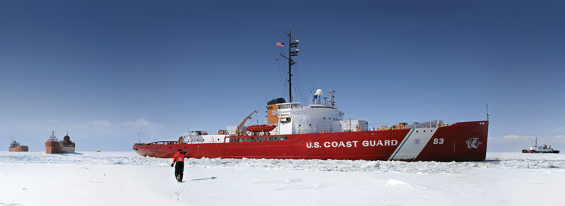 Coast Guard cutter Mackinaw