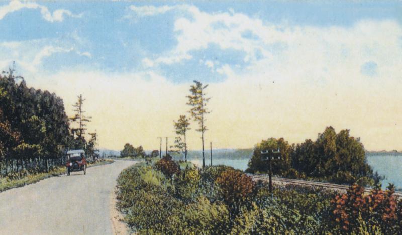 MIchigan shoreline artwork