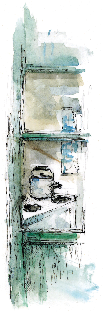 The Kettle: A Reflection - Window