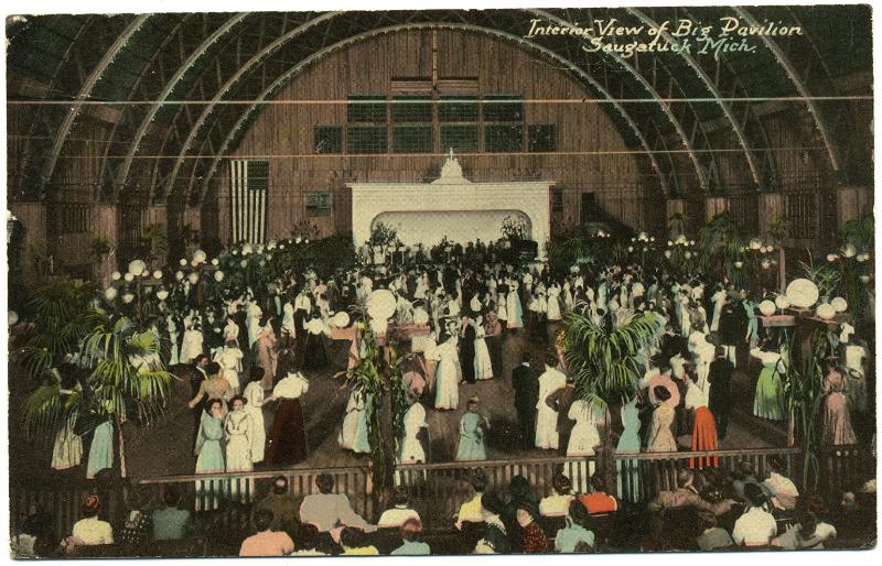 Saugatuck Big Pavilion - Interior