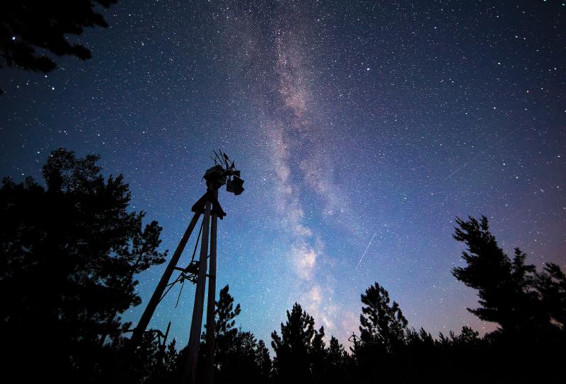 Lake Superior starry night