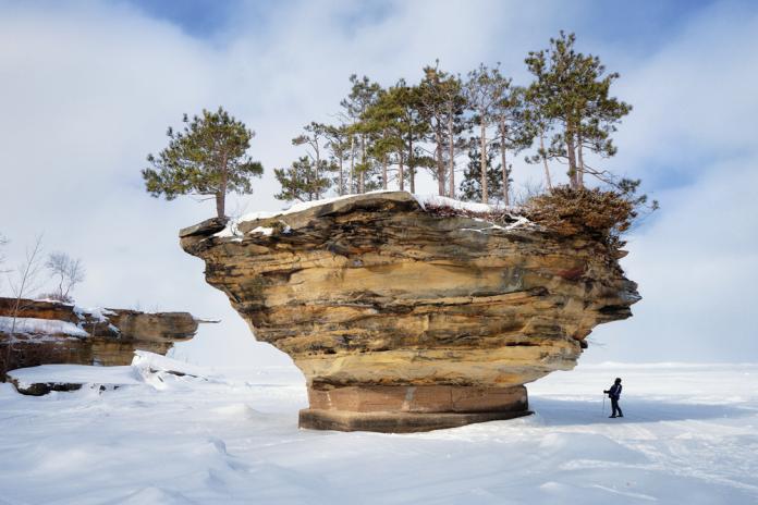 Turnip Rock Michigan
