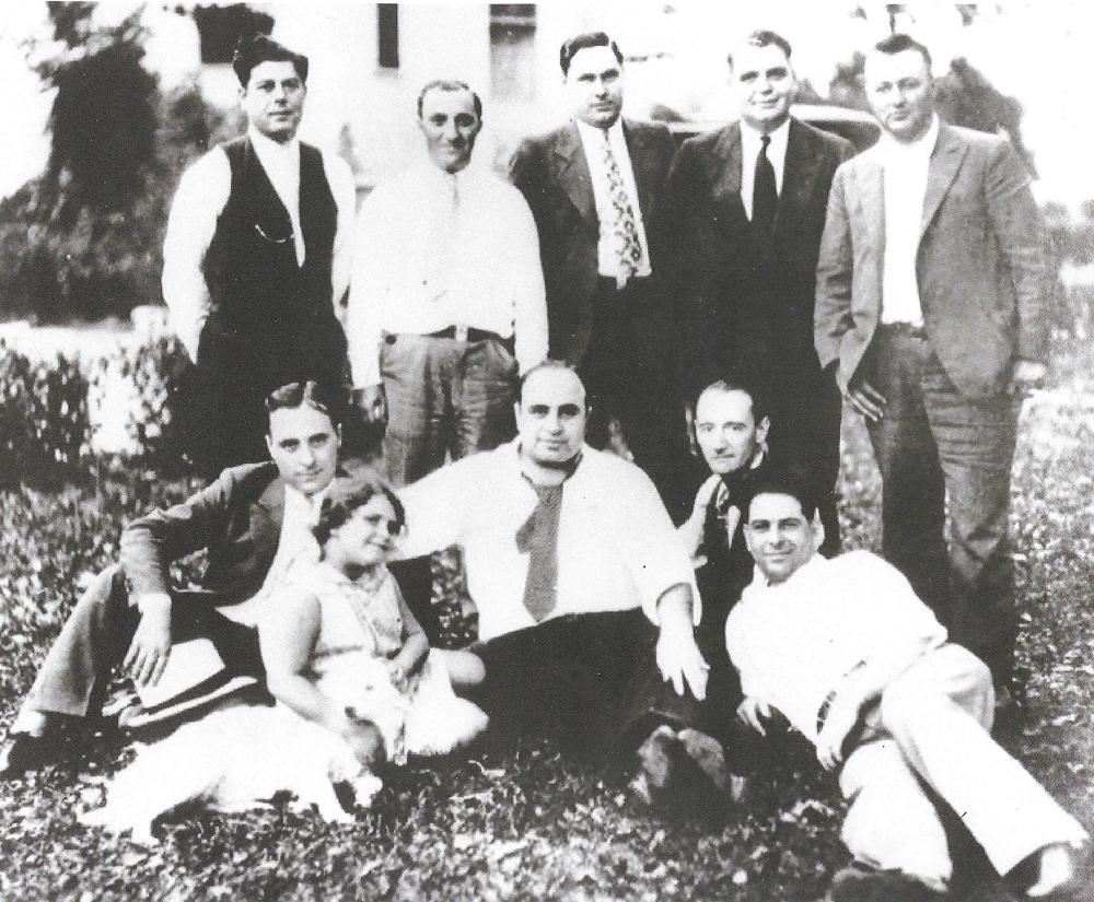 Al Capone and friends