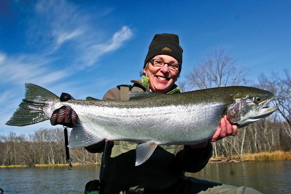 Ann Miller Fishing Manistee