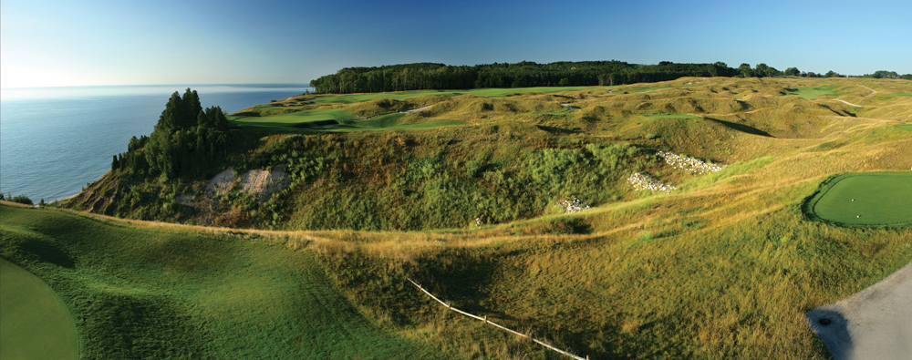 Arcadia Bluffs Panorama