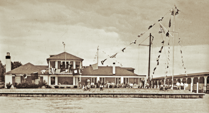 Bayview Yacht Club mid-1950s