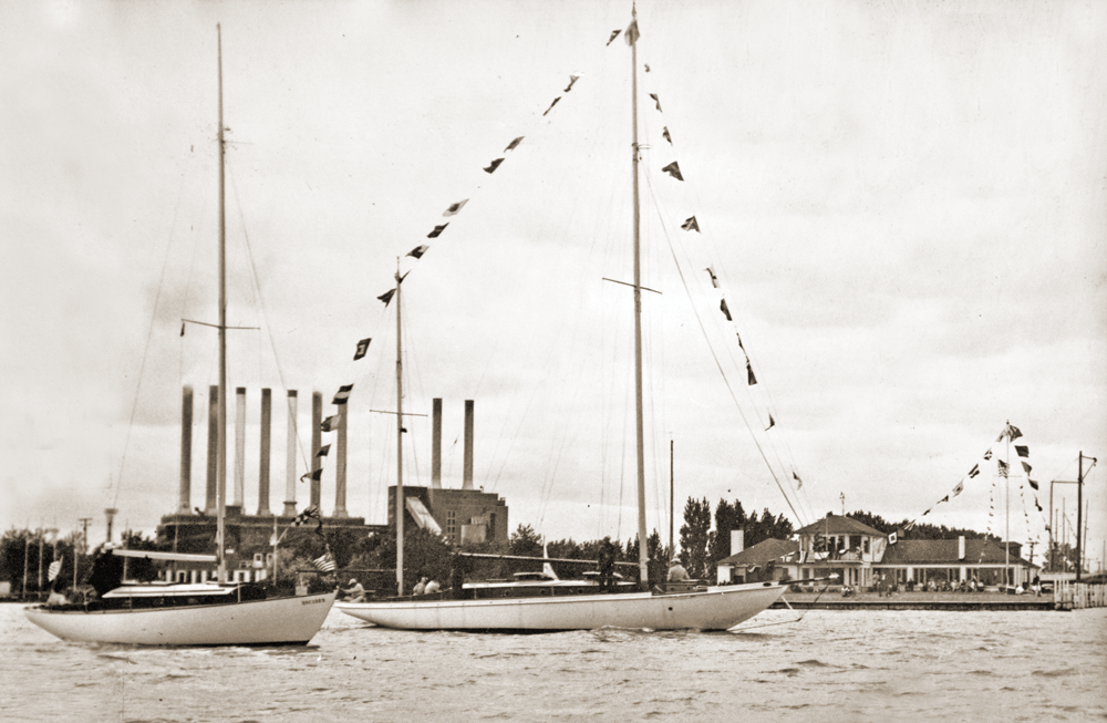 Bayview Yacht Club Sailboats