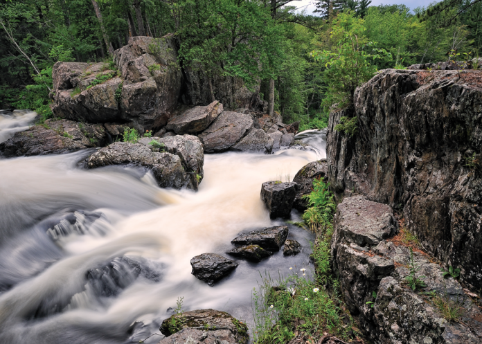 Dead River Falls Photography by John McCormack