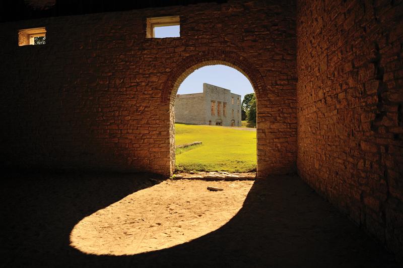 Fayette doorway light John McCormack