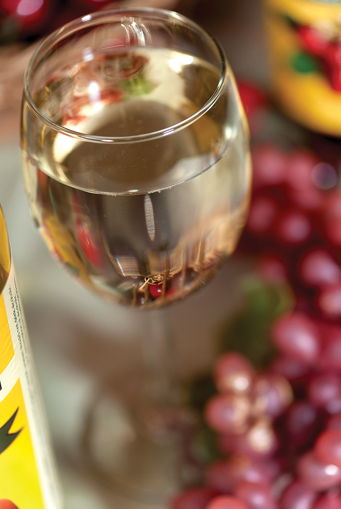 Fruit wine at The Fox Barn