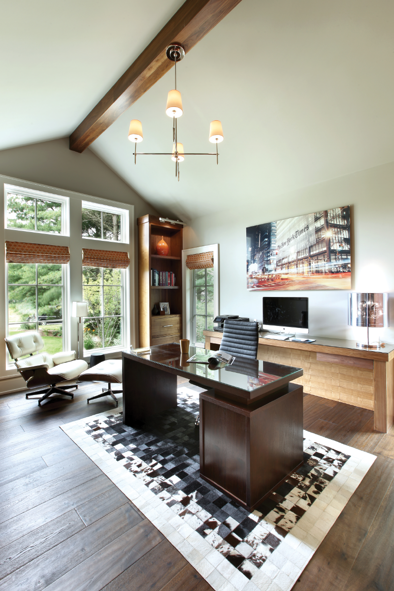 First-level home office