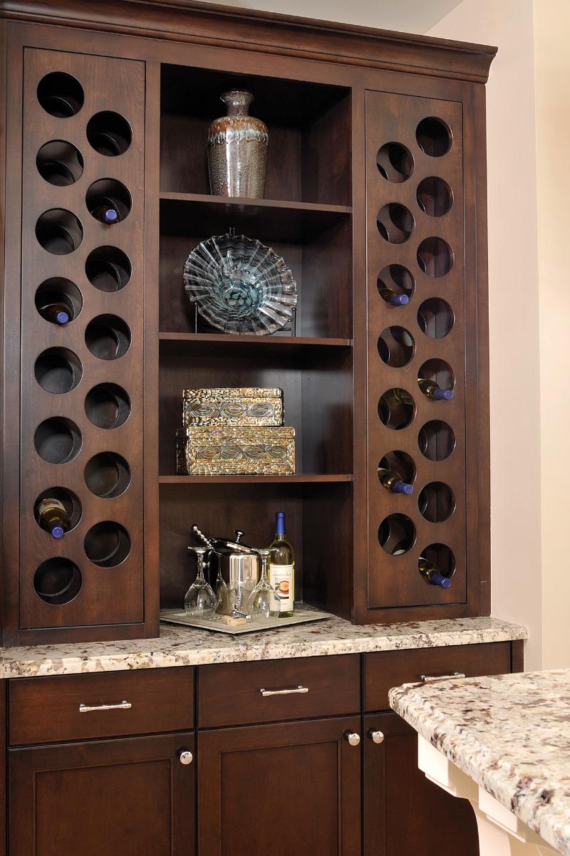 Pier View Kitchen - Wine Cabinet