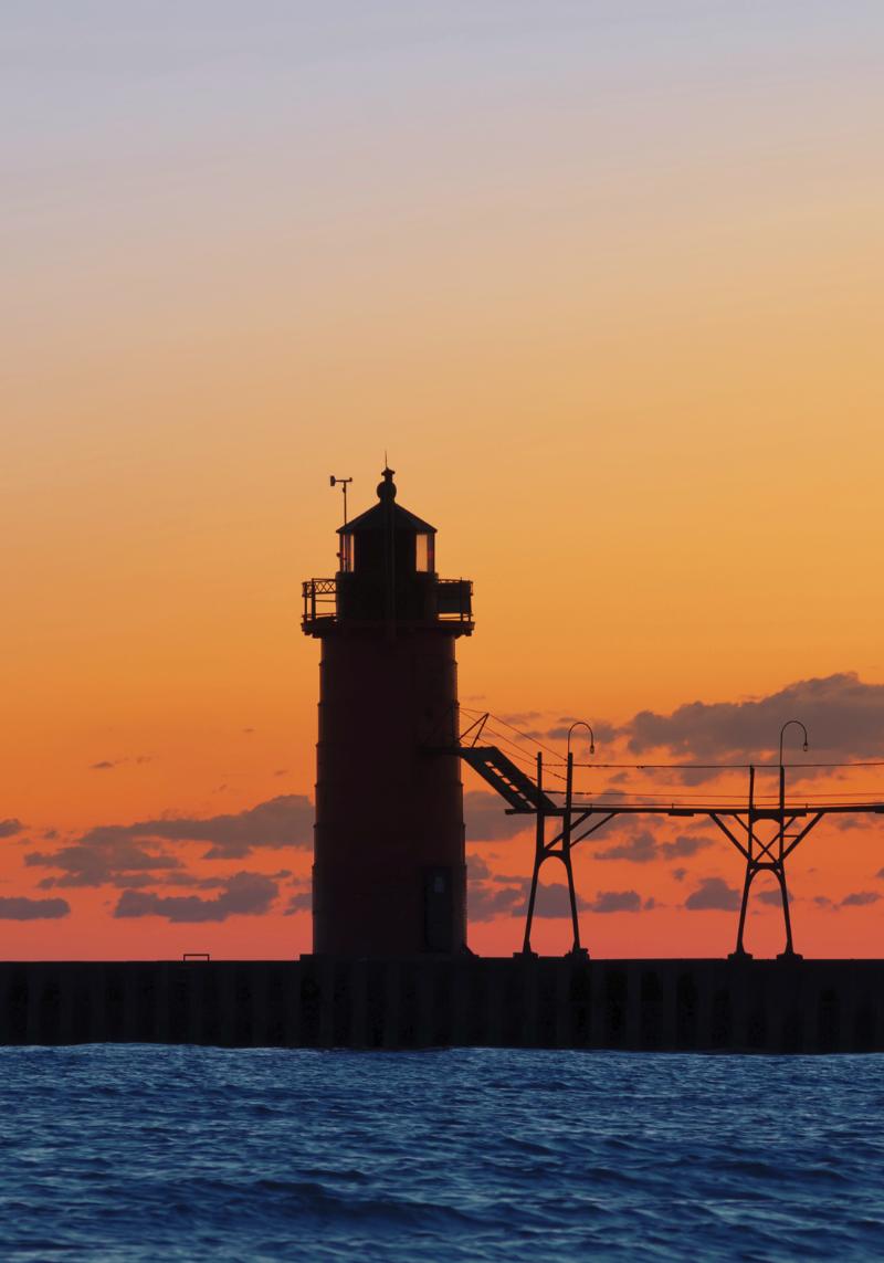 South Haven Pier Light