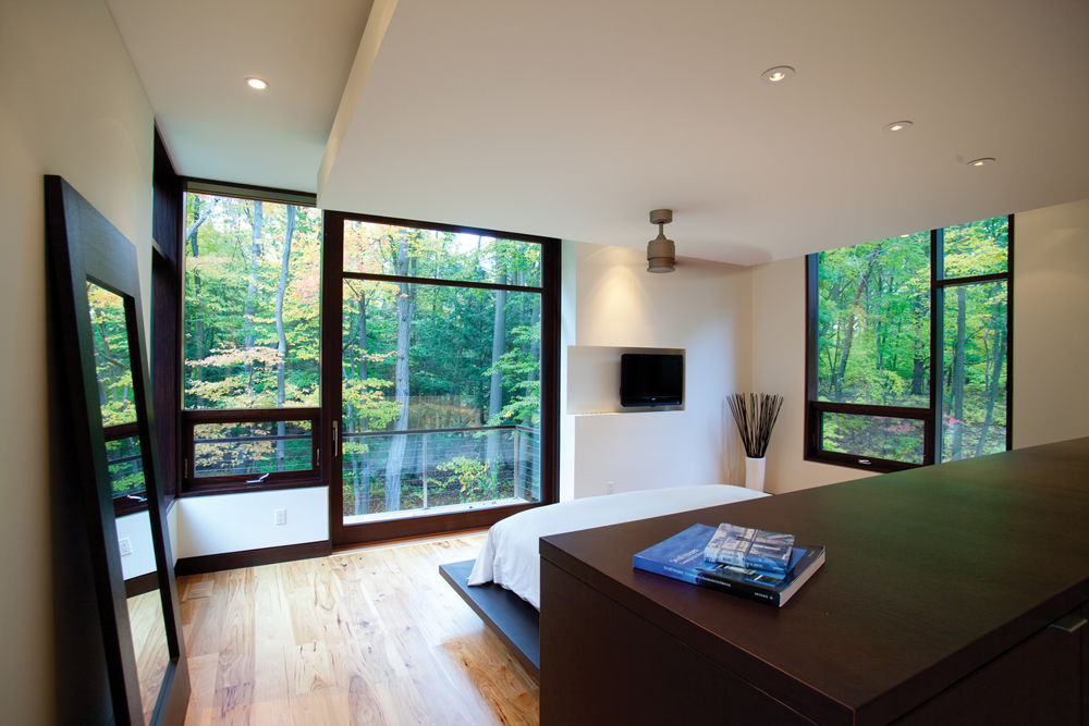 Lucid interior bedroom