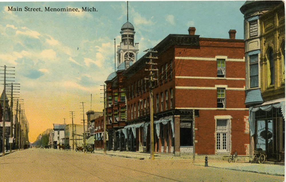 Menominee Historical Postcards