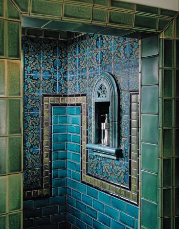 Motawi Tile - Bathroom