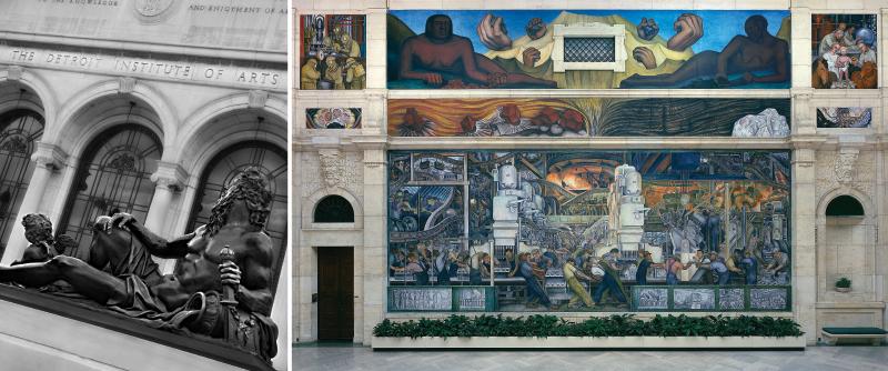 Detroit Institute of Arts collage