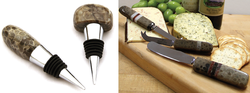 Petoskey Stone Cutlery & Accessories