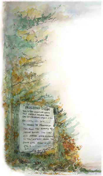 Paulding Light illustration left