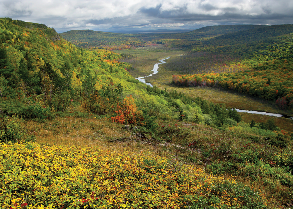 Porcupine Mountains Fall Colors by Lars Jensen