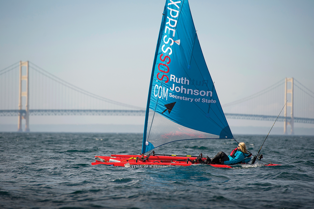 Ruth Johnson Sailing