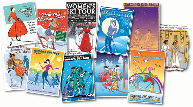 Women's Winter Tour Artwork