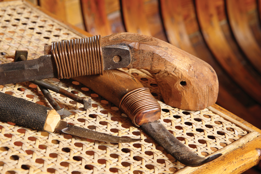 Tools for boat building